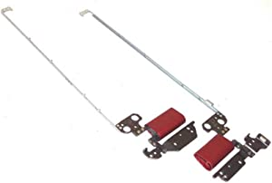 Laptop LCD Hinge L&R for DELL Inspiron 11 3168 3179 P25T with red Hinge Cover New and Original