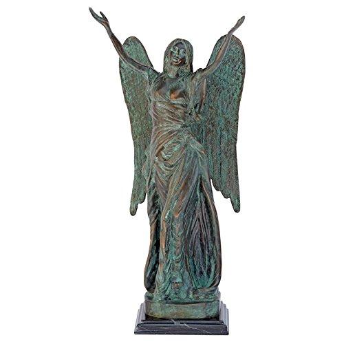 Design Toscano Celestine Angel Bronze Garden Statue