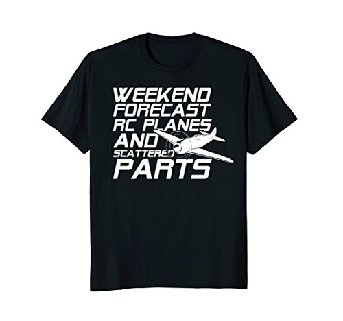 RC Plane T-Shirt for Guys RC Planes and Scattered Parts
