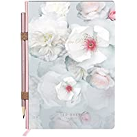 Ted Baker A5 Notebook with Pencil, Chelsea Border