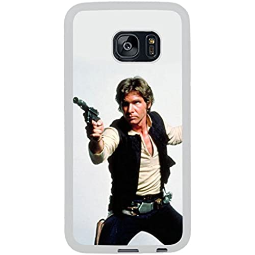Han Solo White Shell Phone Case Fit For Samsung Galaxy S7 Edge,Beautiful Cover Sales