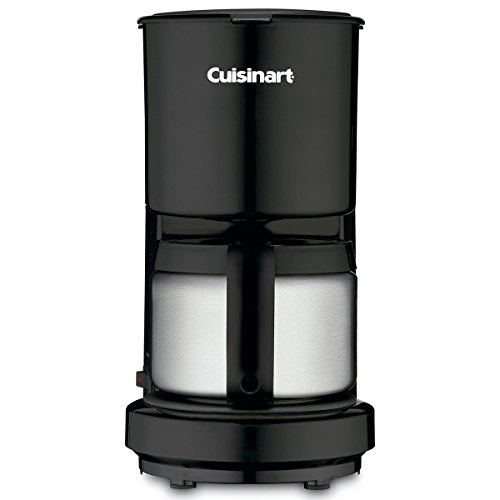 Cuisinart Black-4 Cup Coffee Maker W/ss Carafe