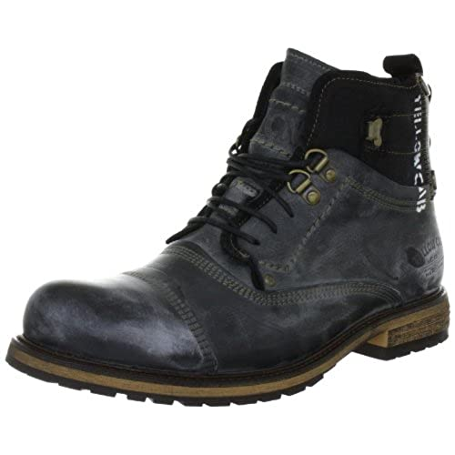 promo code 60f04 83c9e chic Yellow Cab Soldier M, Bottes Rangers Homme ...