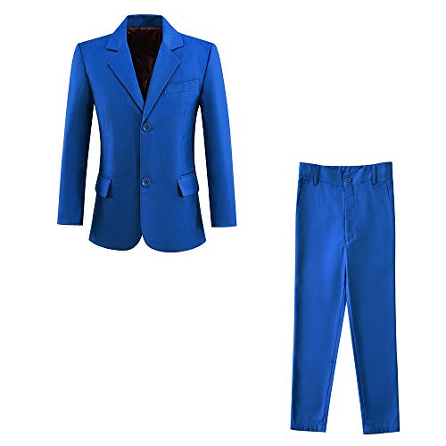 Royal Blue Kids Jacket - Boys Suits Royal Blue Formal Blazer and Dress Pants for Kids Outfit Size 4T