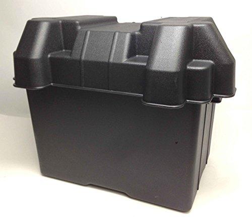 Marine Boat Standard Gp 24 Battery Box Reinforced Polyethylene W/ Webbing Strap