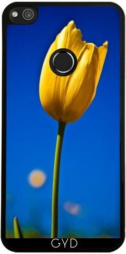 Funda de silicona para Huawei P8 Lite 2017 - Tulipán Amarillo by loki1982