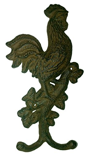 Rustic Farmhouse Rooster Hooks - Country Charm by Rustic (Image #1)