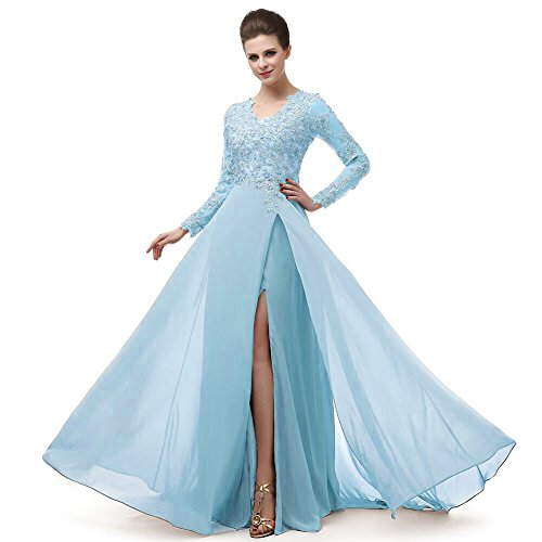 light blue ball dresses - 5