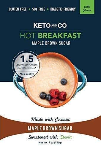 Keto and Co Hot Breakfast