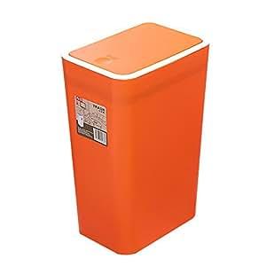 creative rectangle kitchen trash bin bedroom trash can with lid 8 7 x 6 1 x 13. Black Bedroom Furniture Sets. Home Design Ideas
