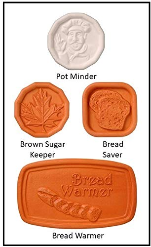 Teddy Bear Tea Party Invitation - Brown Sugar Keeper, Bread Saver, Pot Minder, Bread Warmer Assorted Cook's Helper Collection by Furnish My Homestead - The Perfect Hostess Gift or Party Favors for Lunch or Afternoon Tea Guests.