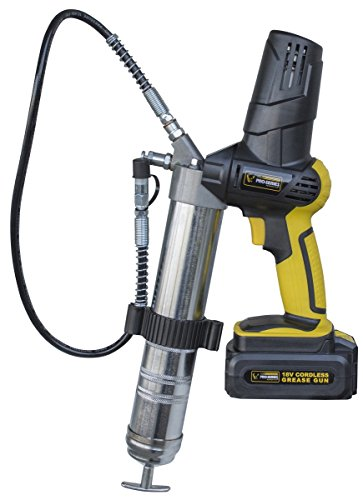 18 Volt Cordless Grease Gun in Black