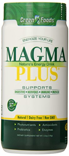 Green Foods Magma Plus, 5.3 Ounce (Pack of 6) by GREVH