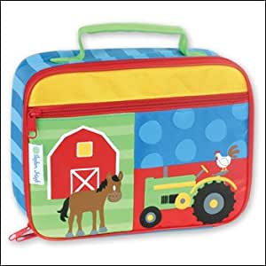 Stephen Joseph - kids lunch box lunch boxes - FARM ANIMALS and HORSES - Can be personalized! We offer matching backpacks for girl's and boy's!