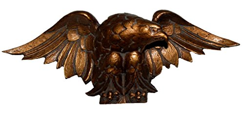 Used, Hickory Manor House Eagle Carving Convex Mirror, Bronze for sale  Delivered anywhere in USA