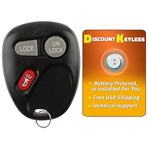 Discount Keyless Replacement Key Fob Car Entry Remote For Sierra Yukon Tahoe Silverado Suburban KOBLEAR1XT, 15042968