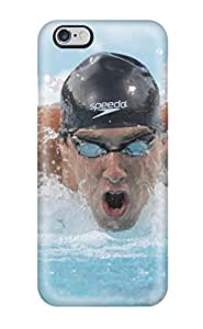 Iphone Case - Tpu Case Protective For Iphone 6 Plus- Michael Phelps Poster