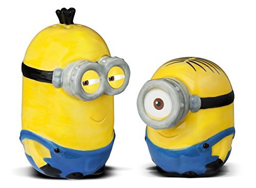 Minions Salt & Pepper Shakers by