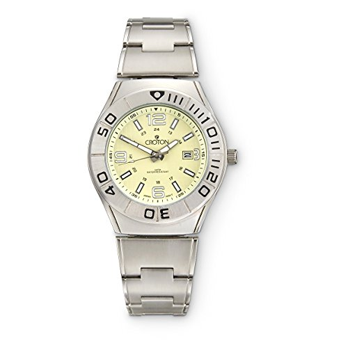 (Stainless Steel Date Watch by Croton)