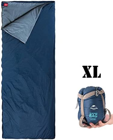 ieGeek Sleeping Bag, Lightweight Envelope Sleeping Bags with Compression Sack Portable Waterproof for 3 Season Travel Camping Hiking Backpacking Outdoor Activities,Ultra-Large for Kid Adults