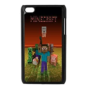 Ipod Touch 4 Phone Case Minecraft F5G8236