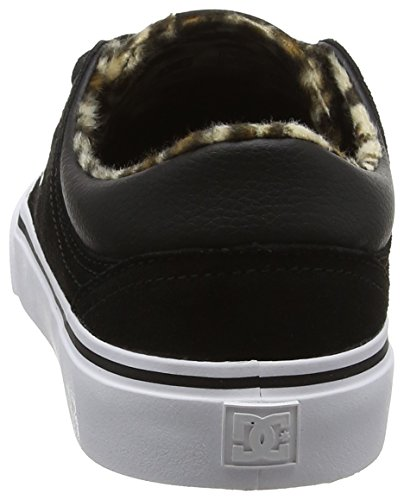 Noir Sneakers Shoes animal Femme Dc Basses Se Trase xqg6n8ZY