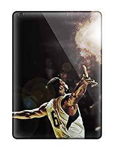 Dolores Phan's Shop New Style 9209500K453772511 nba basketball lebron james miami heat NBA Sports & Colleges colorful iPad Air cases