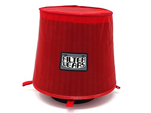 FILTERWEARS Pre-Filter F102R For SPECTRE 8132 8136 K&N RG-1001; RED (Red Air Filter Wrap)