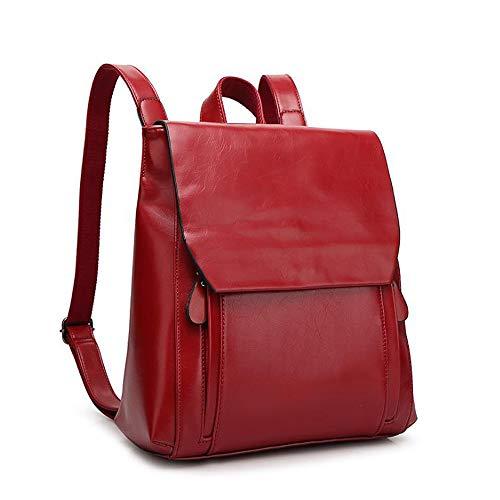 dos à unique Rouge femme pour Zoomlie Sac main taille porté au Vin c6KpXqpa