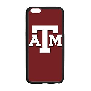 Onshop Custom NCAA Texas A and M University Logo Phone Case Laser Technology for iPhone 6 Plus