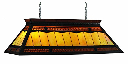 RAM Gameroom Products 44-Inch Filigree Billiards Table Light with KD Frame ()
