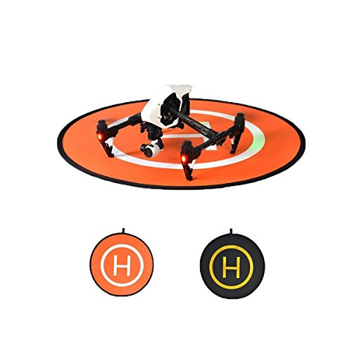 EXSPORT-Portable-Foldable-Waterproof-Oversize-D110cm-Landing-Pad-for-Mavic-Pro-DJI-Phantom-3-Phantom-4-Inspire-1-and-Suitable-for-RC-Helicopters-Quadcopters-Drones-Syma-Helicopters
