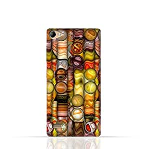 Lenovo Vibe X2 TPU Silicone Case with Abstract Bubble Background