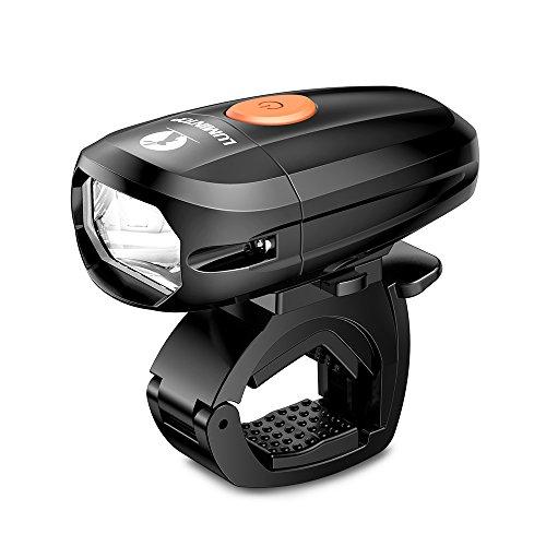 LUMINTOP C01 자전거 라이트 LED헤드라이트 고휘도 IP68 완전 방수 USB충전식 1500mAh 광범위 조사 밝기5400칸델라 연속 점등10.5h JIS전 조등적합품