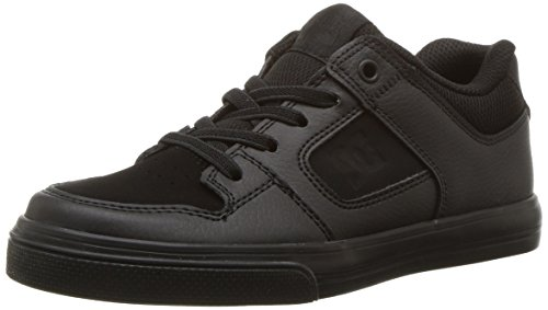 DC Unisex-Child Pure Elastic, Black/Black/Black, 6.5 M US Big Kid