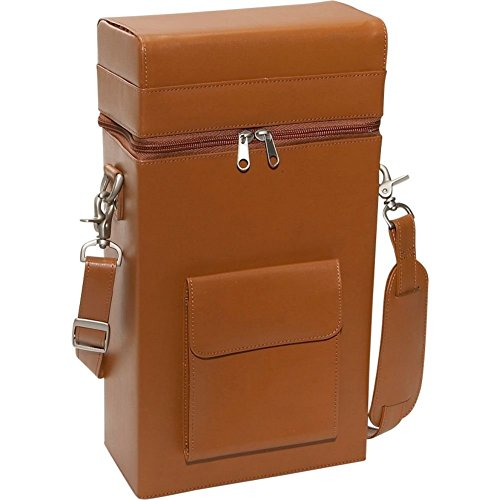 RYC620TAN8 - Royce Leather Connoisseur Wine Carrier by Royce Leather