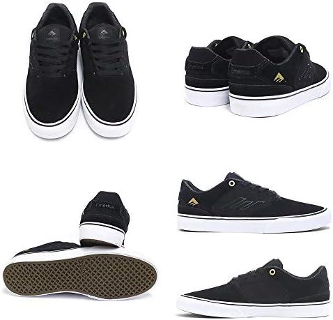 SHOES シューズ スニーカー LOW VULC 黒/ゴールド/白 BLACK/GOLD/WHITE スケートボード スケボー SKATEBOARD