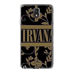 Samsung Galaxy Note3 NAv1595HLZj Unique Design Stylish Nirvana Band Skin Shockproof Hard Cell-phone Cases -88caseme