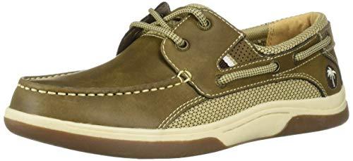 - Margaritaville Men's Steady Boat Shoe, Brown 9.5 Regular US