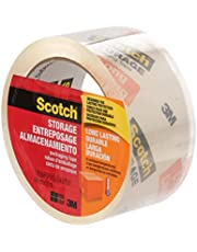 """Scotch Packing Tape Long Lasting Storage Tape, 1.88"""" x 50M, 1 Roll"""