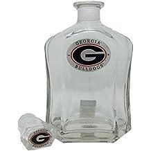 Georgia Bulldogs Capitol Decanter