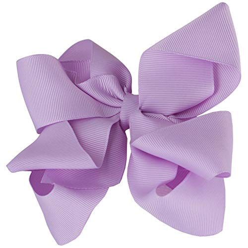 - Extra Large Bow Clip and Headband for Newborns, Baby Headbands, and Little Girls by Zelda Matilda.,Light Orchid,0 month - 12 Years