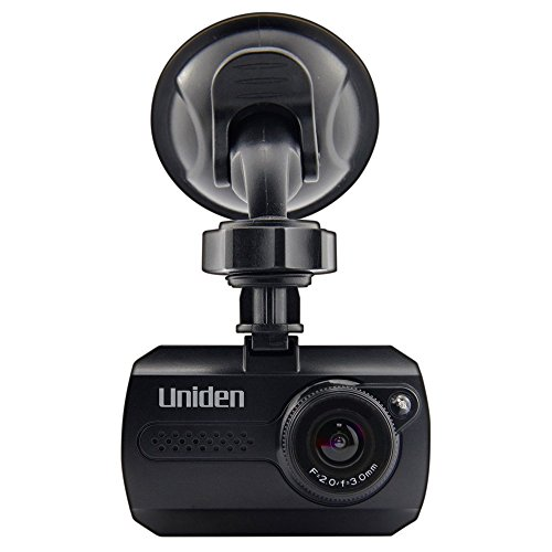 Uniden 1080p HD Dash Cam with Infrared LED Night Vision and Windshield Mount (Certified Refurbished)