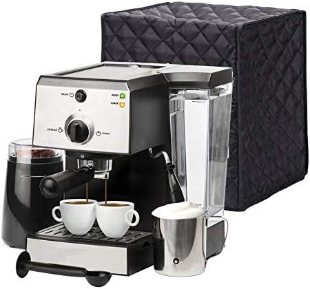 QEES JJZ100 - Funda universal para electrodomésticos pequeños de cocina, 9.8 x 9.8 x 11.8 pulgadas, cubierta para máquina de café expreso, cubierta antipolvo, accesorios para electrodomésticos de cocina: Amazon.es: Hogar