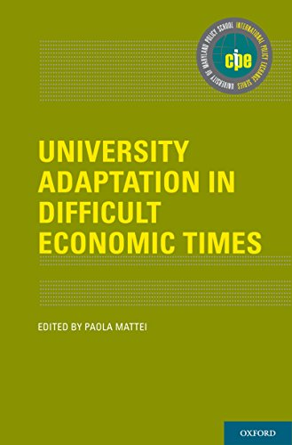Download University Adaptation in Difficult Economic Times (International Policy Exchange Series) Pdf