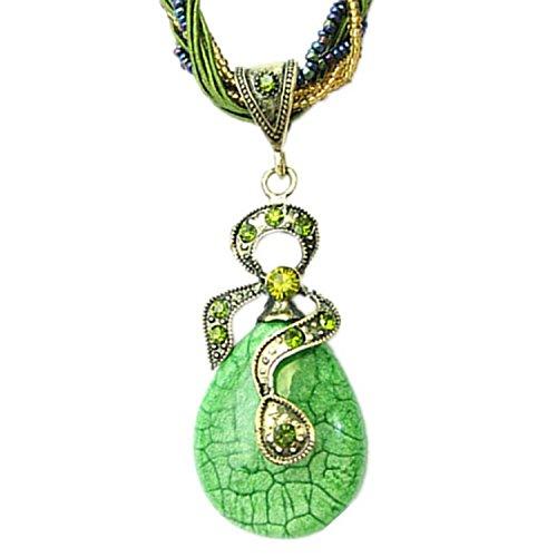 hydne-classical-ropes-vintage-bohemia-phoenix-peacock-opal-necklacegreen