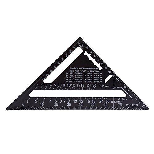 Everpert 7 Zoll Metric Dreieck Massstab Messlineal Quadratische