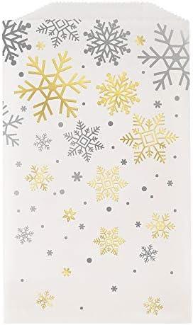 Gouden Sneeuwvlok Kerstfeest benodigdheden