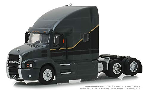 Greenlight 1/64 SD Trucks Series-6 2019 Mack Anthem Tractor - Cab Only Diecast Model Truck - Diecast Cab