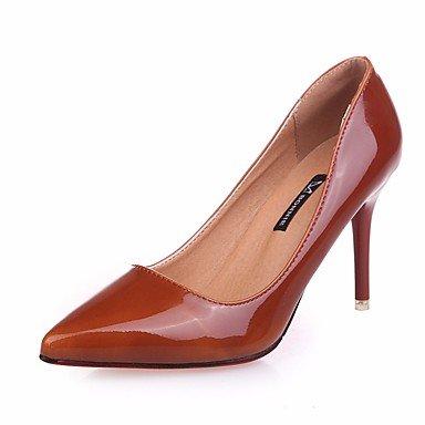 à Rouge Femme ggx Noir Polyuréthane Talons Chaussures LvYuan Confort Plat Vert Printemps Confort Décontracté green tF1Hqxn